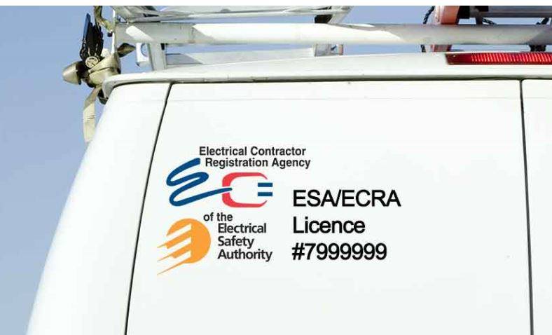 Truck with ESA license